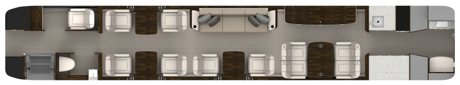 Aft Galley with Crew Compartment