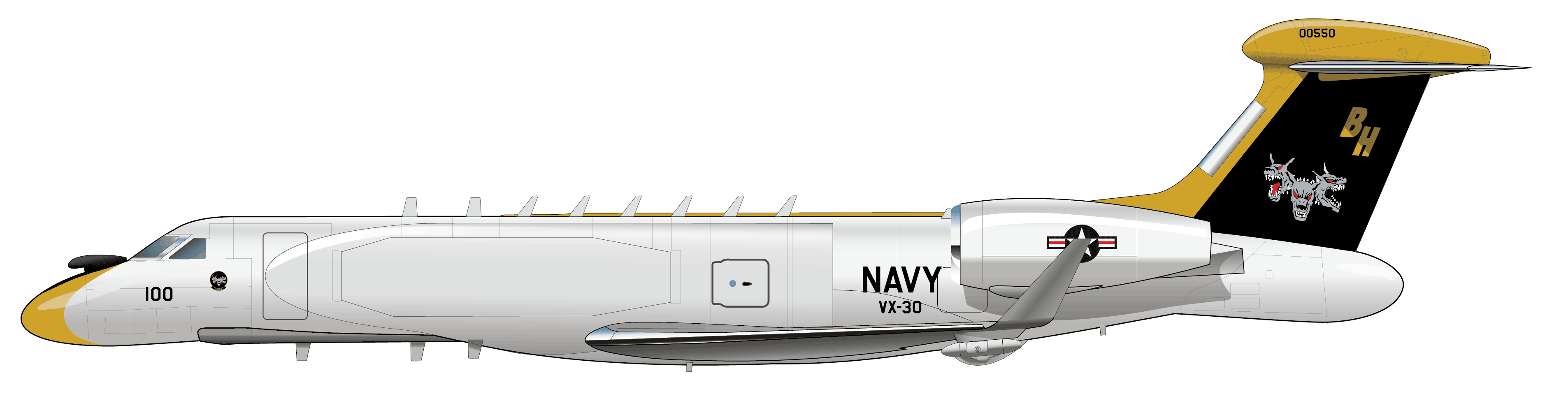 U.S. Navy: Telemetry Range Support Aircraft